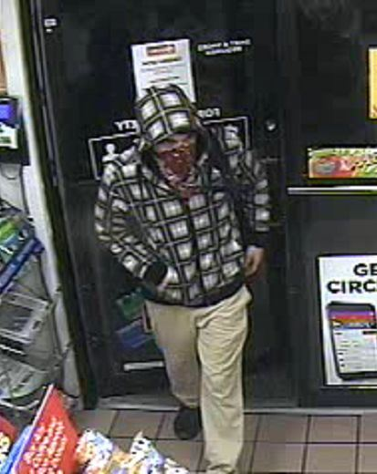 Circle K Robbery Suspect
